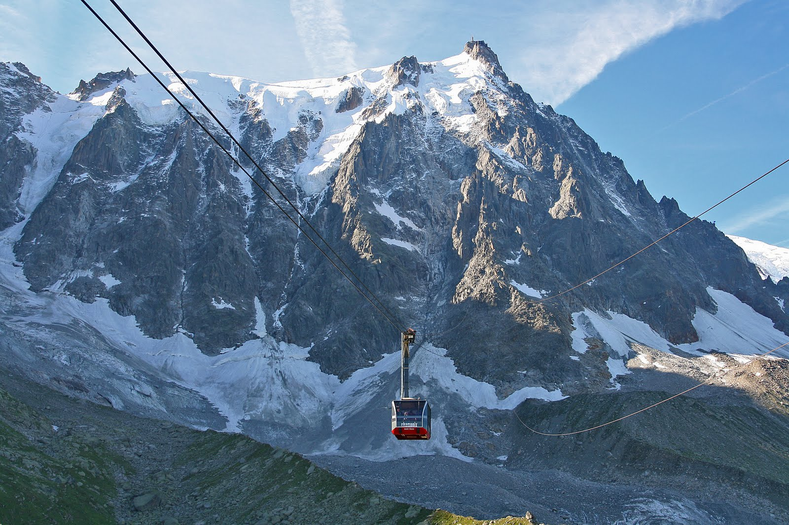 Augile de Midi Hiking with Russell Tours Chamonix