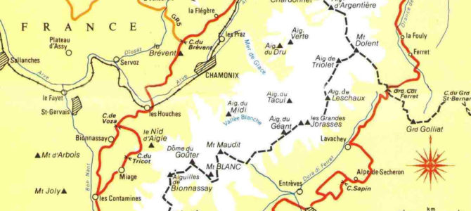 Why start in Chamonix France for your Tour du Mont Blanc
