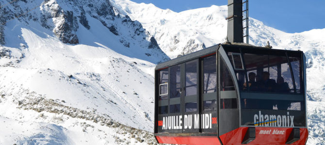 Tour du Mont Blanc by Cable Car