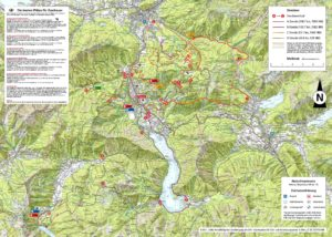 Central-Austria-Hiking-Map