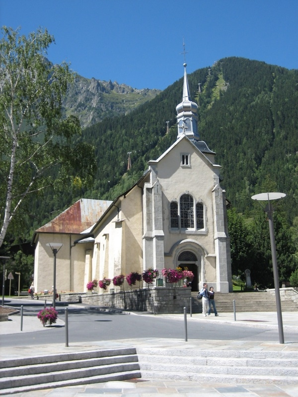 Churches Hiking in Chamonix with Russell Tours