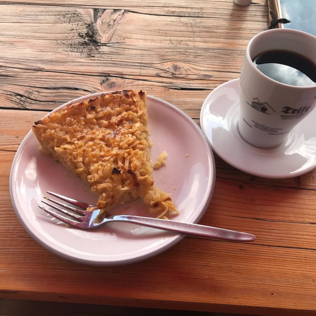 Pie and Coffee Berggasthaus Trift