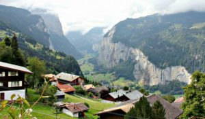 Hike Wengen Switzerland